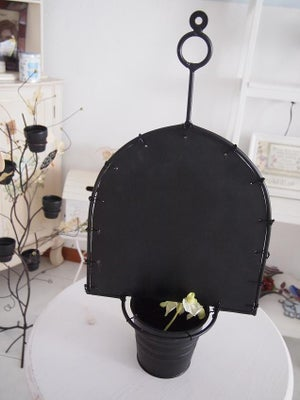 Hanging Flower Pot with Chalkboard