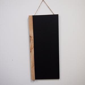 Long Chalkboard with Single Border