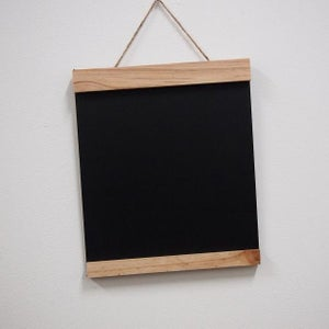Small Chalkboard with Top and Bottom Border