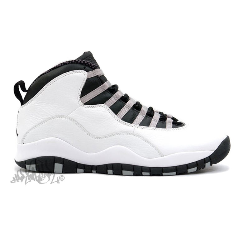 Image of AIR JORDAN 10 - STEEL - 310805 103