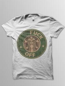 Image of FUCK OFF TEE