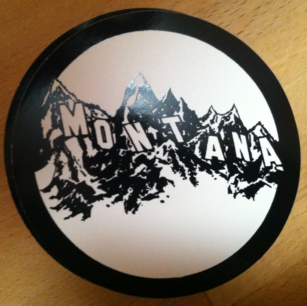 Image of Sticker: Montana Letters
