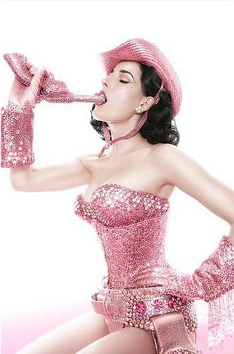Image of Dita Von Teese - Pink Cowboy - Limited Edition