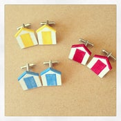 Image of Beach Hut Cufflinks