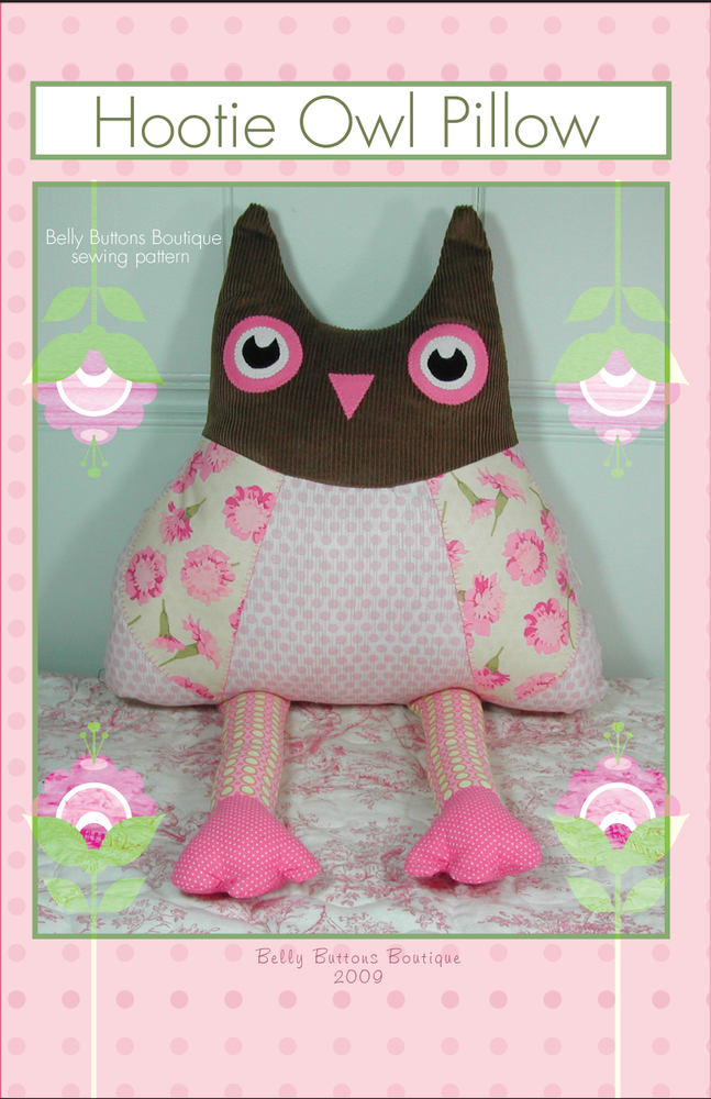 Image of Hootie Owl Pillow
