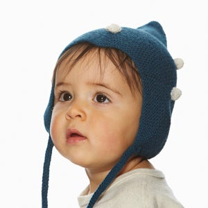 Image of Kids dotted Parisblue Hat