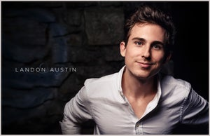 "Image of Landon Austin 17"" x 11"" SIGNED Poster"