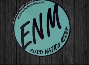 Image of Euro Nation Media Mint Slap Sticker