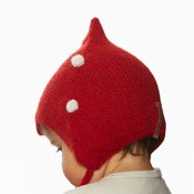 Image of Kids  dotted Red Hat
