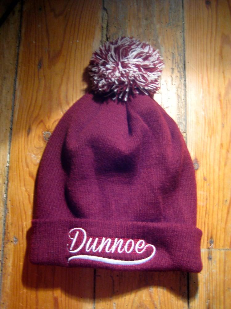 Dunnoe Clothing — Dunnoe Clothing  Bobble Beanie Hat - Burgundy b55680c29