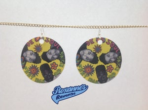 Image of De La Soul - 3 Feet High And Rising Earrings