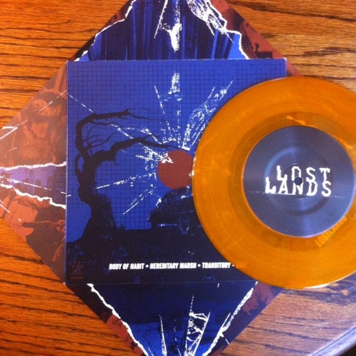 "Image of LOST LANDS ""BODY OF HABIT"" 7"" VIT035"