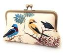 Image of Bird clutch bag