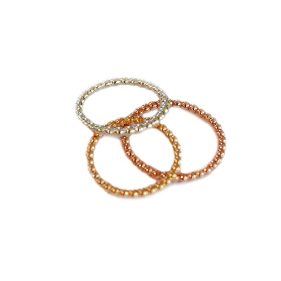 Image of Beaded Knuckle Ring