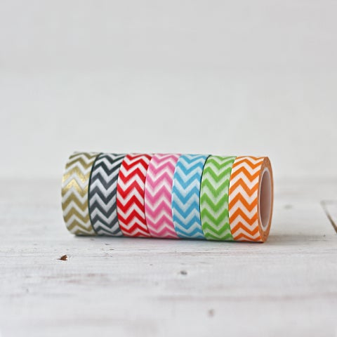 Image of Chevron Washi Tape