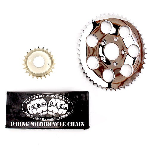 Image of BELT TO CHAIN CONVERSION KIT- 180/200