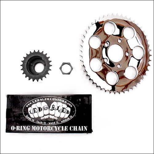 Image of BELT TO CHAIN CONVERSION KIT- 240/250