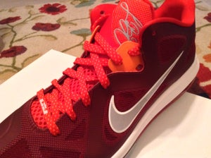 Image of LeBron 9 Low - chilling red