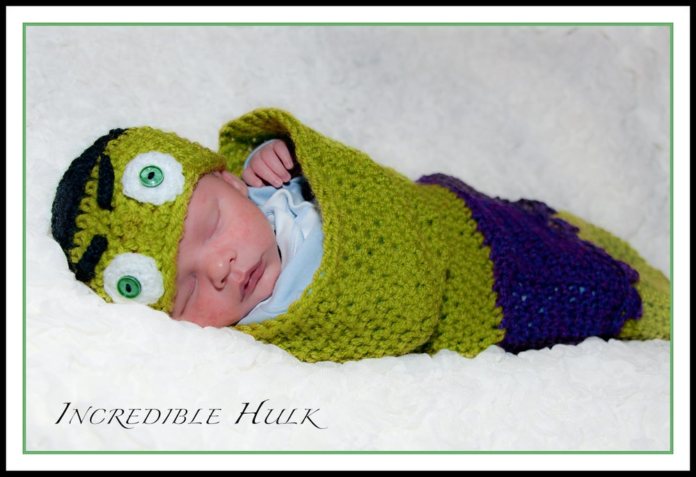 Image of Incredible Hulk Hat and Cocoon Set 77fbecea1f5