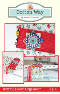 Image of Ironing Board Organizer Paper Pattern #968