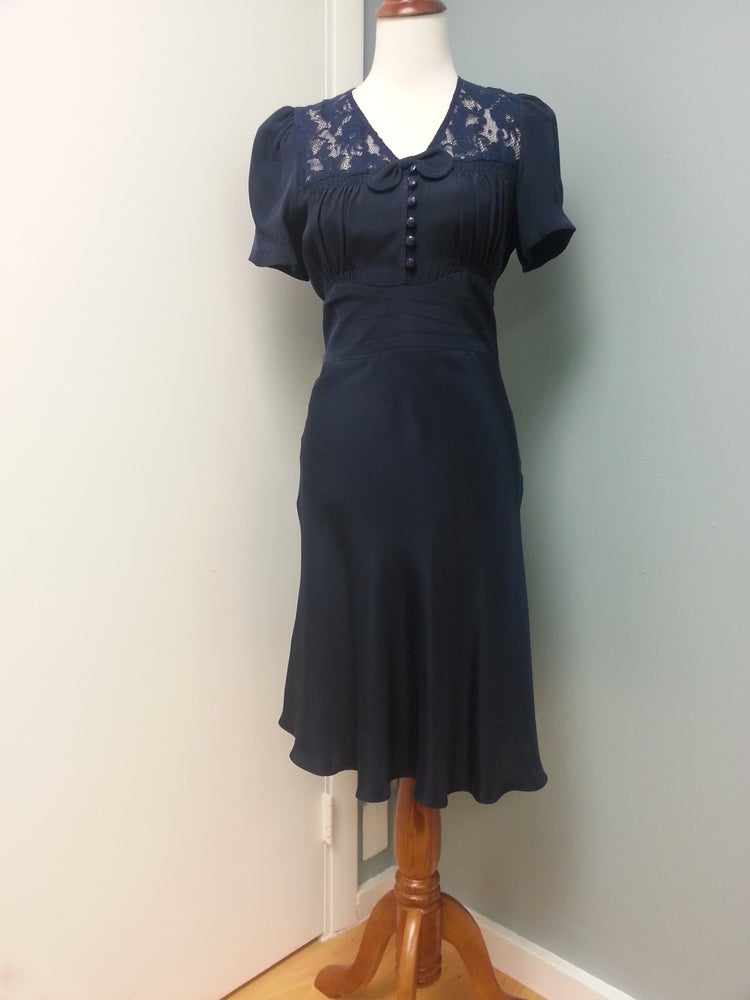 """Image of Betsey Johnson """"Vintage inspired Pinup Dress"""""""