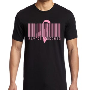 Image of Breast Cancer Awareness BARCODE Tee