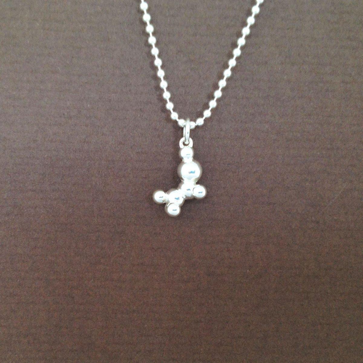 Image of ethanol charm necklace