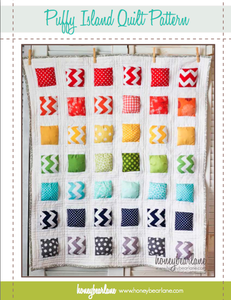 Image of Puffy Island Puff Quilt Pattern