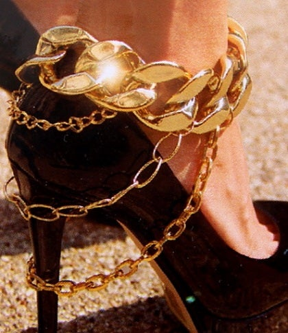 Image of Cuban Link Shoe Freak Charm