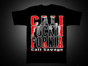 Image of Men's - Cali Fuckin Fornia Tshirt