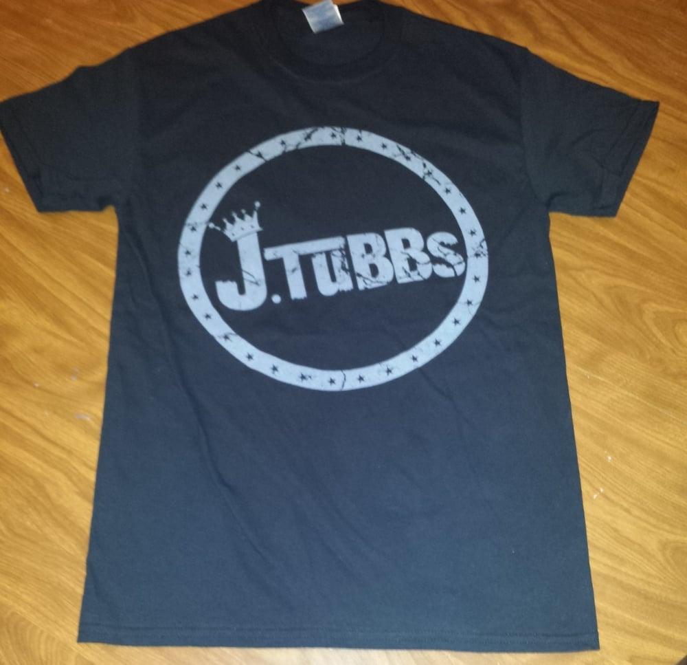 Image of J Tubbs Logo Shirt (Black)