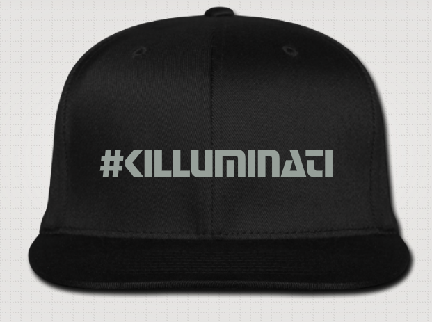 Image of :: #KILLUMINATI Original :: Flat Brim Cap
