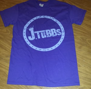 Image of J Tubbs Logo Shirt (Purple)
