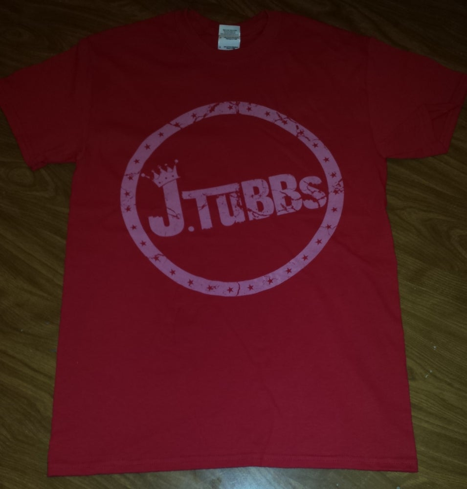 Image of J Tubbs Logo Shirt (Red)