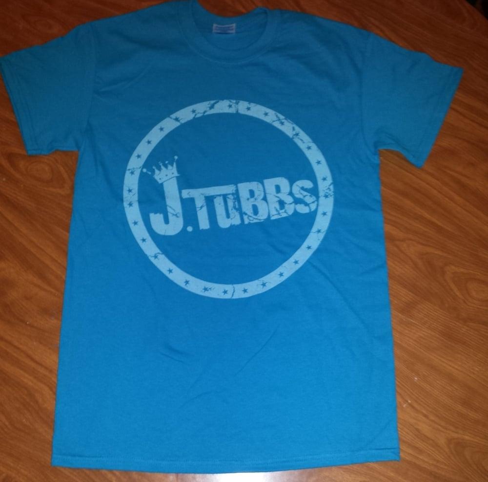 Image of J Tubbs Logo Shirt (Aqua Blue)