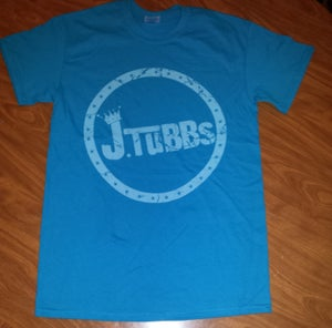 Image of J Tubbs Logo Shirt (Aqua Blue)