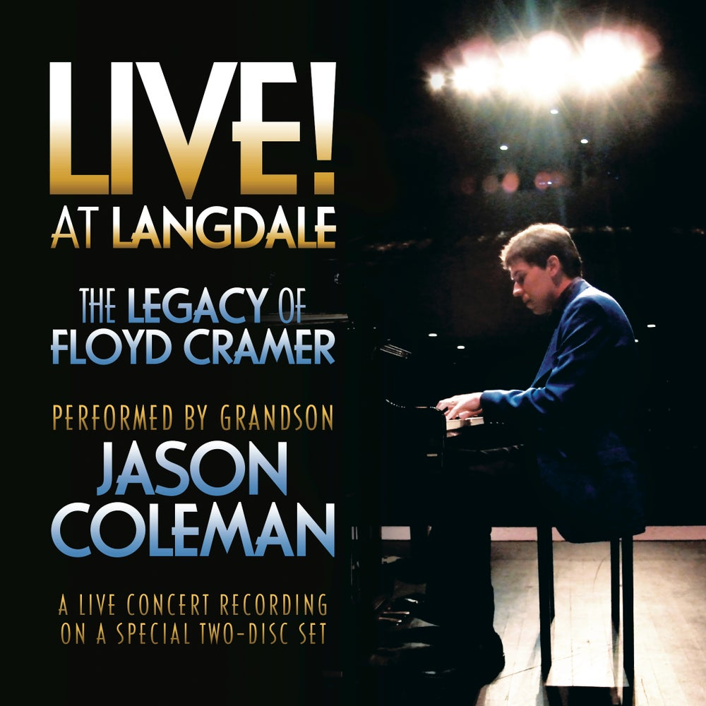 Image of LIVE! at Langdale: The Legacy of Floyd Cramer 2-CD Set