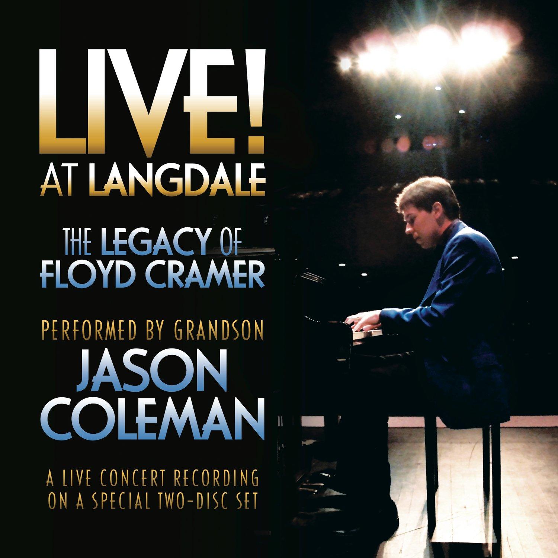 Image of LIVE! at Langdale: The Legacy of Floyd Cramer 2-CD Set