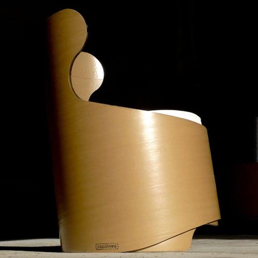 Image of TONDA Cellulose Armchair – NATURE <br>€<strike>476.00</strike>