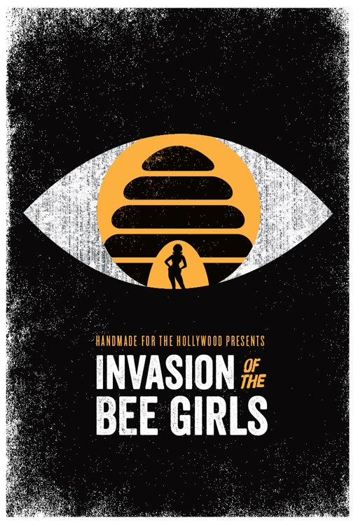 Image of Invasion Of The Bee Girls poster