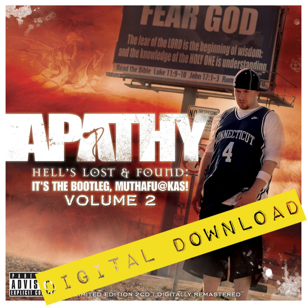 [Digital Download] Apathy - Hell's Lost & Found: It's the Bootleg,  Muthafuckas! Vol  2 - DGZ-006