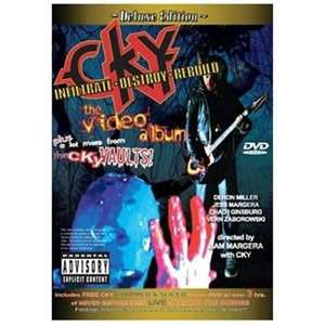 Image of CKY Infiltrate Destroy Rebuild DVD album 2 discs autographed... 12 videos!