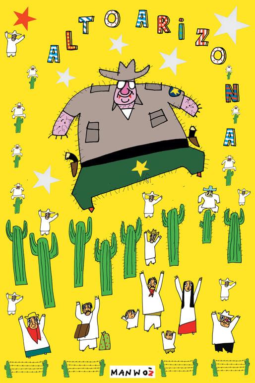 "Image of Manu Chao ""Alto Arizona"" Poster"