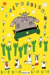 "Manu Chao ""Alto Arizona"" Poster"