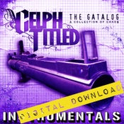 Image of [Digital Download] Celph Titled - The Gatalog (Instrumentals) - DGZ-017