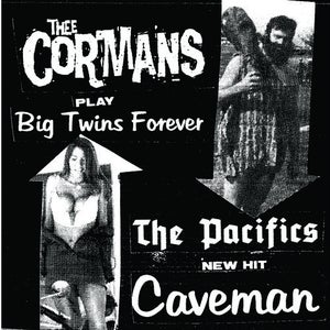"""Image of Thee Cormans / The Pacifics - """"Split"""""""