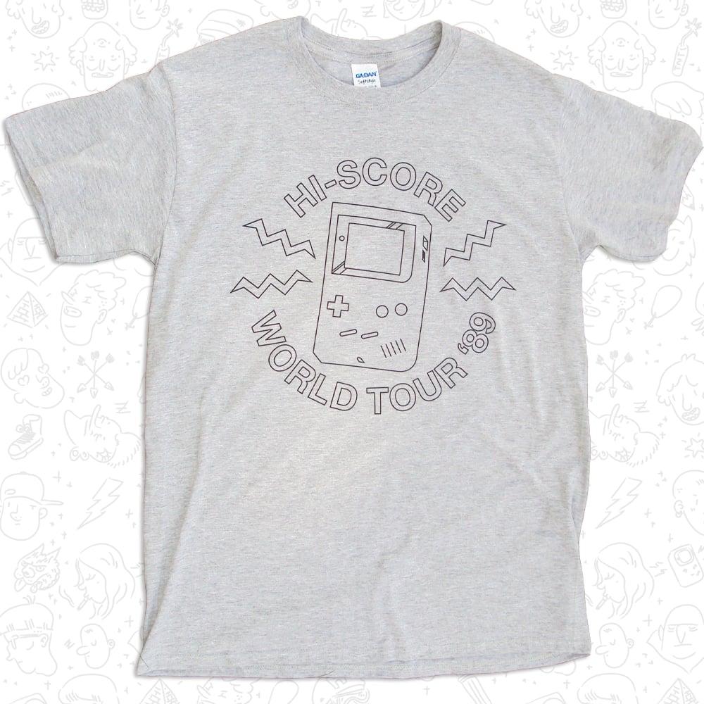 Image of Hi-Score World Tour '89 T-shirt
