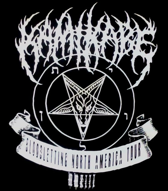 Image of Bloodletting North America T-Shirt