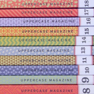 Image of Uppercase Magazine - Back Issues