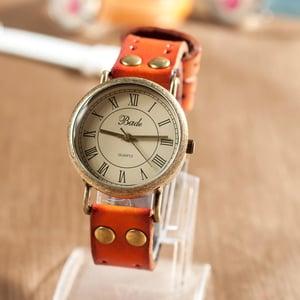 Image of Retro Leather Watch Vintage Style Wrist Watch (WAT0005)